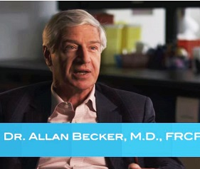 Dr. Allan Becker brings the CHILD Study to Manitoba television viewers