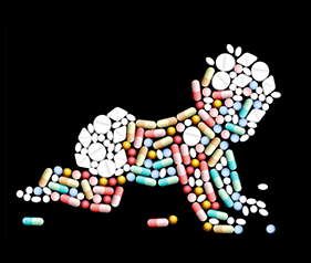 Canadian newborns are routinely exposed to antibiotics