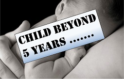 CHILD: Beyond five years