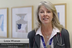 """CHILD's Linda Warner recognized as a """"Health Care Hero"""""""